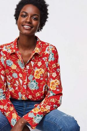 Стильная блузка от Loft США - Loft LT0001-cl-S