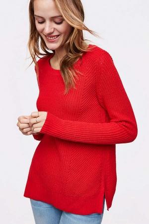 Красный женский свитер от Loft (США) - Loft LT0007-cl-М