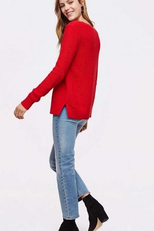 Красный женский свитер от Loft (США) - Loft LT0007-cl-М #2