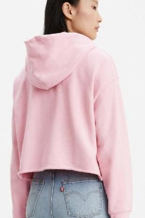 Розовый женский свитшот от Levis (США) - Levis  LV0020-cl-ХS #2