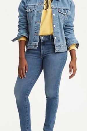 Красивые женские джинсы Levis (модель 721) - Levis  LV0029-cl-24/32