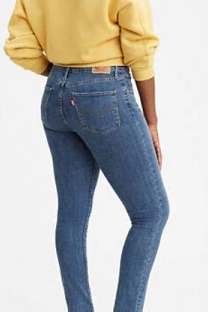Красивые женские джинсы Levis (модель 721) - Levis  LV0029-cl-24/32 #2