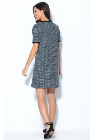 Красивое жаккардовое платье от Venca (Испания) - Venca MG0010-cl-S #2
