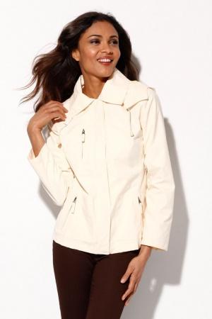 Бежевая женская куртка (ветровка) от Venca Испания  - Venca MG0014-cl-36