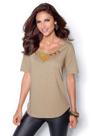 Стильная женская футболка от Venca Испания  - Venca MG0020-cl-XXL