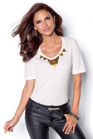 Красивая женская футболка от Venca Испания  - Venca MG0021-cl-S