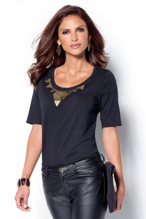 Ультрамодная женская футболка от Venca Испания  - Venca MG0022-cl-M