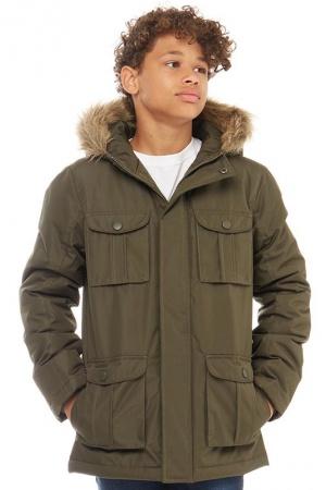 Куртка-парка для мальчика-подростка Kangaroo Poo (Англия) - Kangaroo Poo MMD0065-cl-164-170