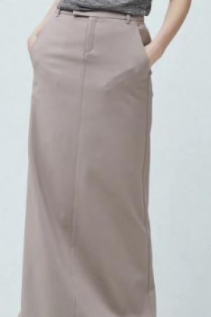 Юбка женская в пол с ремнем Mango Испания - Mango MNG0183-w-cl-38