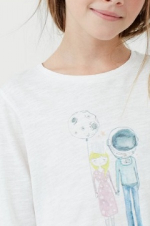 Модный реглан для девочки от Mango (Испания) - Mango MNG0199-cl-11-12
