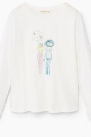 Модный реглан для девочки от Mango (Испания) - Mango MNG0199-cl-11-12 #2