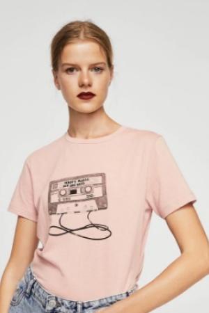 Женская футболка от Mango (Испания) - Mango MNG0222-cl-L
