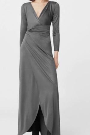 Женское платье в пол Mango (Испания) - Mango MNG0238-cl-S