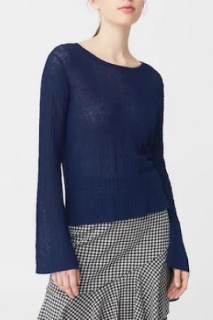 Синий женский свитер от Mango (Испания) - Mango MNG0285-cl-S