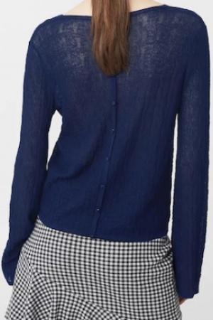 Синий женский свитер от Mango (Испания) - Mango MNG0285-cl-S #2