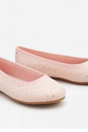 Розовые балетки для девочки от Mango  - Mango MNG0290-sh-36