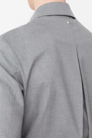 Серая мужская куртка- бомбер от Mango  - Mango MNG0305-cl-XL #2