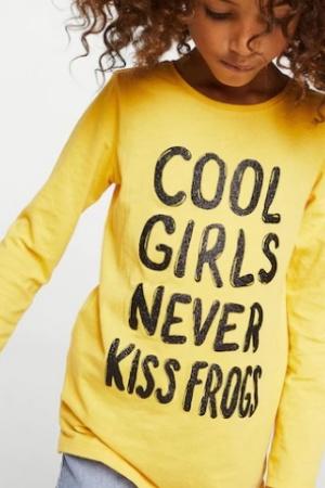 Модный реглан для девочки от Mango Испания - Mango MNG0316-cl-9-10