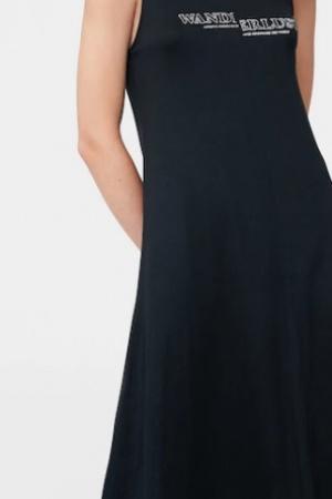 Стильное женское платье в пол Mango (Испания) - Mango MNG0320-cl-XS