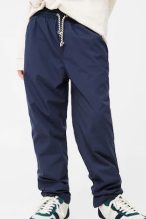 Стильные утепленные штаны  для мальчика от Mango (Испания) - Mango MNG0324-cl-152