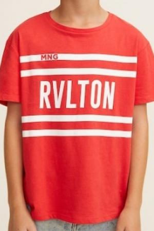Стильная футболка для мальчика Mango (Испания) - Mango MNG0331-cl-140