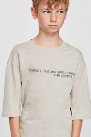 Модная футболка для мальчика Mango (Испания) - Mango MNG0332-cl-152