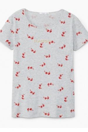 Легкая женская футболка от Манго (Испания) - Mango MNG0337-cl-S #2