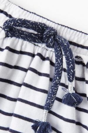 Юбка в полоску для девочки от Манго (Испания) - Mango MNG0346-cl-140 #2