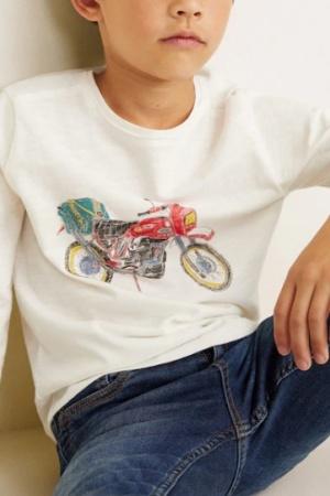 Реглан для мальчика от Манго (Испания) - Mango MNG0363-cl-140 #2