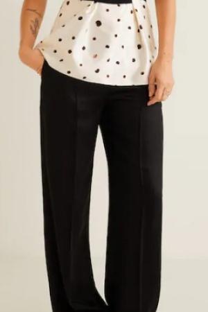 Классические женские прямые брюки от Mango (Испания) - Mango MNG0369-cl-36