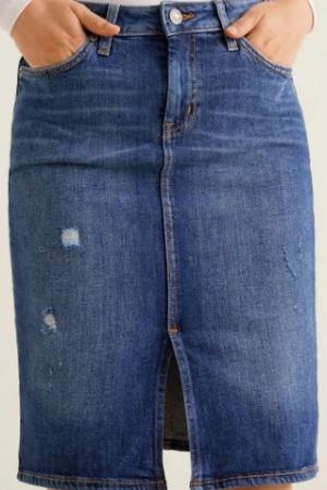 Стильная женская джинсовая   юбка от Mango - Mango MNG0379-cl-S