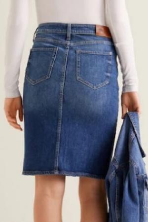Стильная женская джинсовая   юбка от Mango - Mango MNG0379-cl-S #2