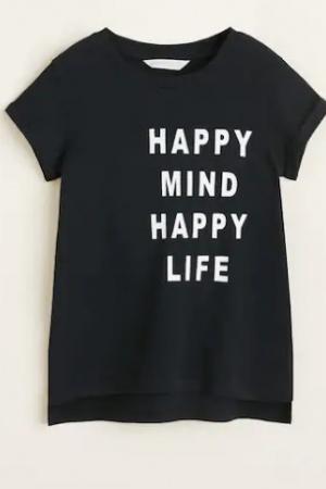 Красивая футболка для девочки от Mango (Испания) - Mango MNG0396-cl-140