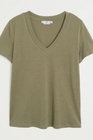 Трендовая женская футболка от Манго (Испания) - Mango MNG0417-cl-XL #2