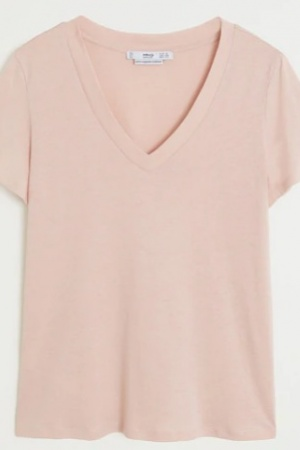 Красивая женская футболка от Манго (Испания) - Mango MNG0418-cl-S #2