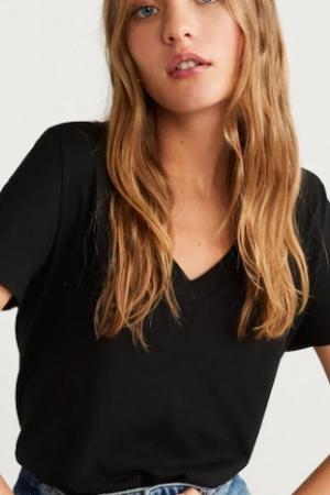Легкая женская футболка от Манго (Испания) - Mango MNG0419-cl-М