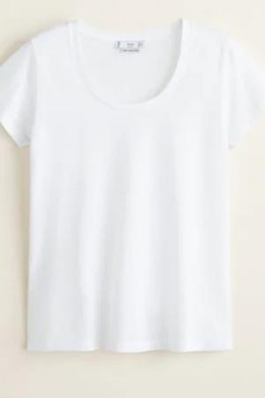 Базовые женские футболки Mango Испания  - Mango MNG0423-cl-L #2
