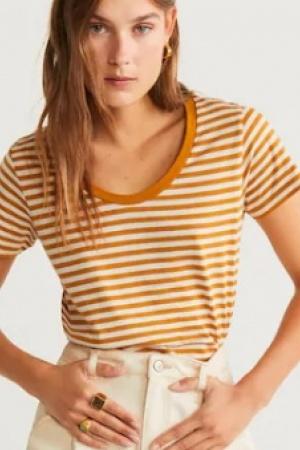 Женская футболка Mango Испания  - Mango MNG0424-cl-S