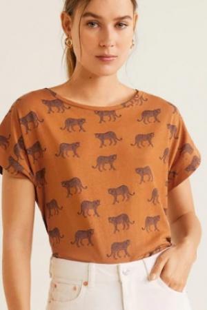 Стильная женская футболка от  Mango - Mango MNG0426-сl-S