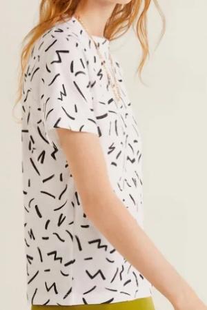 Женская футболка от  Mango (Испания) - Mango MNG0430-cl-S #2