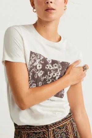 Женские футболки с принтом от Mango - Mango MNG0433-cl-S