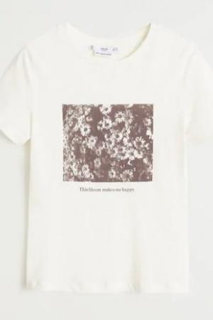 Женские футболки с принтом от Mango - Mango MNG0433-cl-S #2