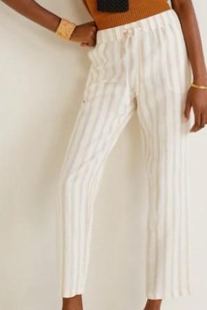 Стильные женские льняные  брюки от Mango (Испания) - Mango MNG0436-cl-S