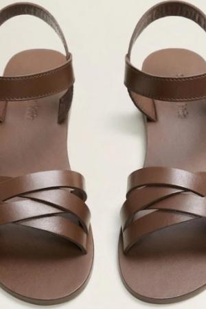 Кожаные босоножки для девочек Mango (Испания) - Mango MNG0440-sh-35 #2