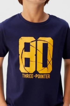 Модные футболки для мальчиков от Mango (Испания) - Mango MNG0448-cl-128