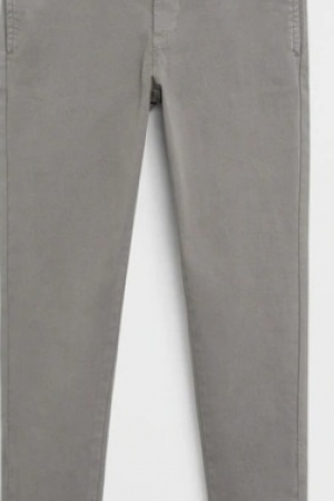 Серые штаны чинос для мальчиков от Mango (Испания) - Mango MNG0481-cl-140