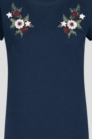 Женская футболка с цветочной вышивкой от Orsay  - Orsay OR0066-cl-S