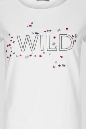 Белая женская футболка Orsay (Германия) - Orsay OR0071-cl-XS