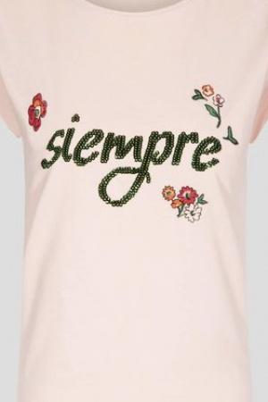Розовая женская футболка Orsay Германия - Orsay OR0073-cl-S