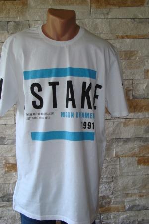 Модная мужская футболка от Пул&Бир Испания - Пул&Бир PB0244-cl- L